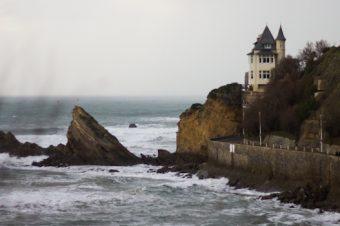 Biarritz en hiver