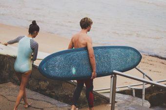 Le surf en couple, ça donne quoi ?