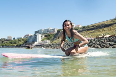 I surf for fun