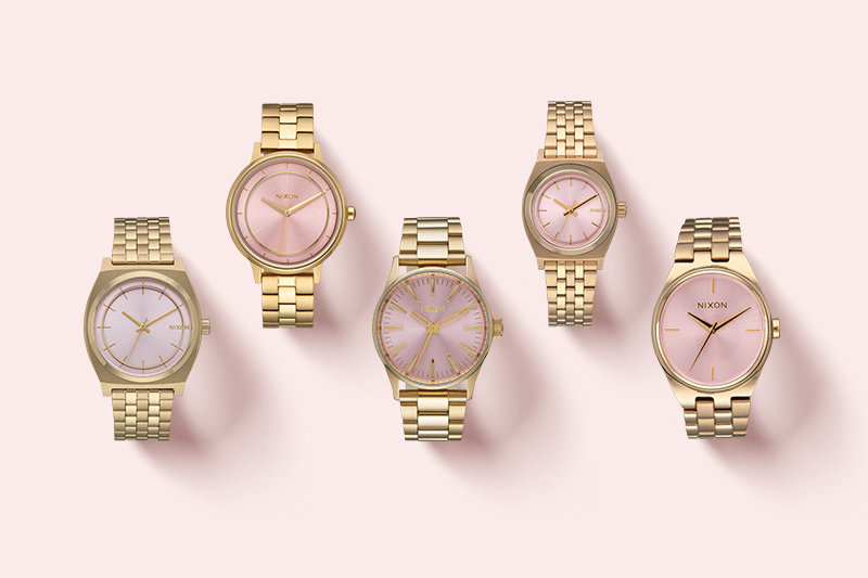 Nixon Pink Deco Collection