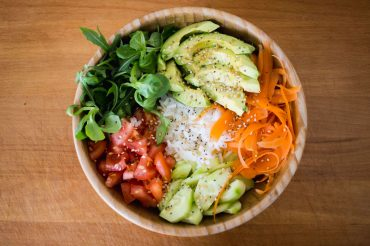 The buddha bowl, beautiful and delicious