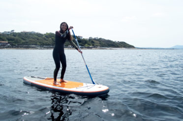 Inflatable stand up paddle, tested and approved!