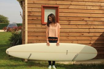Mes débuts en surf