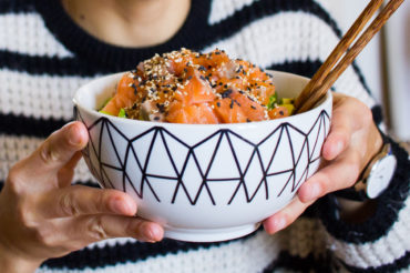 Chirashi, the easy Japaneese bowl