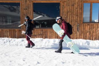 Ride en montagne, ski ou snowboard?